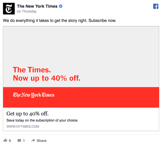 facebook-ad-ny-times example
