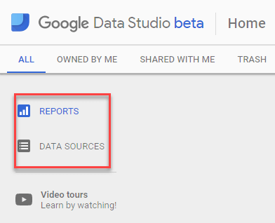 Google data studio reports search engine land
