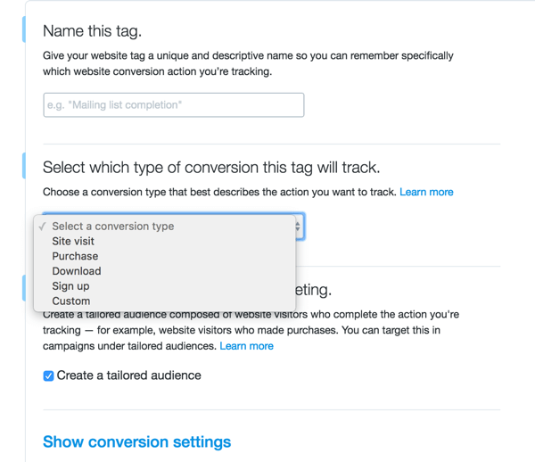 post attribution conversion tracking twitter social examiner