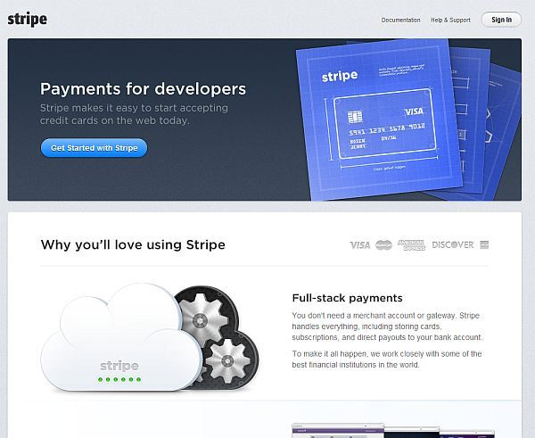 stripe value proposition example conversion xl