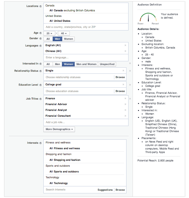 Facebook_Advertising targeting methods shopify