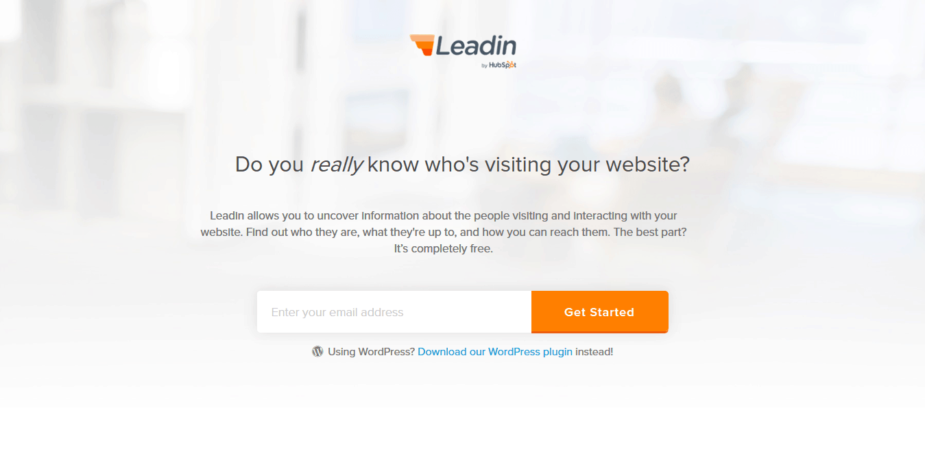 who's visiting your website