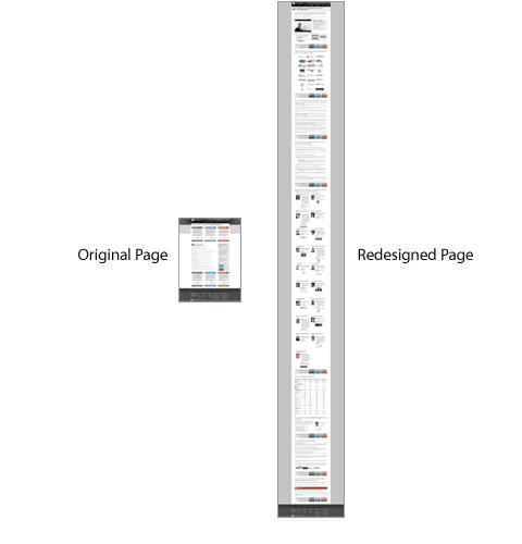 short landing pages don't always convert best ppc